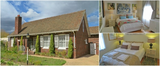 Two bedroom self-catering house, self catering, holiday house, holiday accommodation, gardenfly guesthouse, somerset west, western cape, winelands, beach, strand